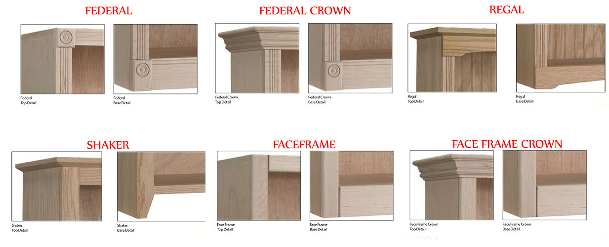 Oak Maple Unfinished Solid Real Wood Bookcases Furniture Gallery
