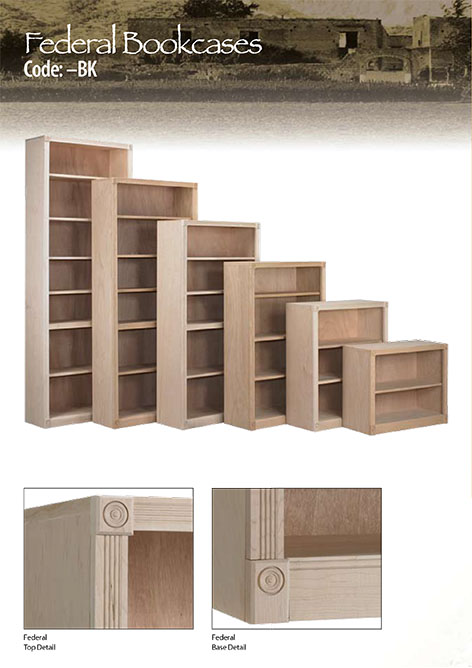 Federal Bookcases